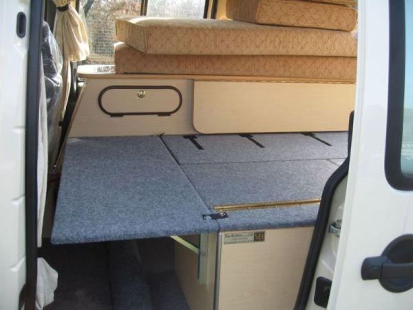 Fiat Doblo Camper Van Conversion Vandezine By Van Bodies