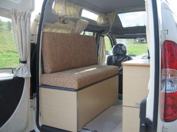 Fiat Doblo Camper Van Conversion Vandezine By Bodies