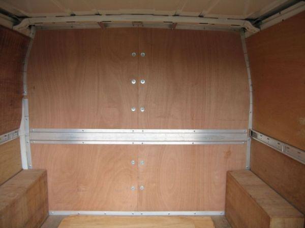 Carpet Amp Plywood Lining Vandezine By Van Bodies Lancs Ltd