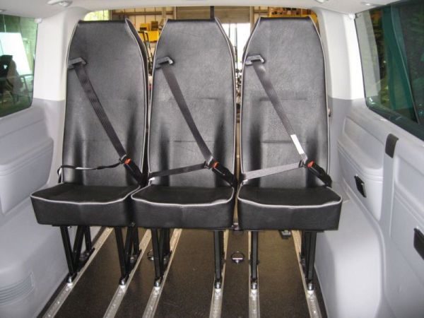 VW Transporter Rear Seats Click To Enlarge
